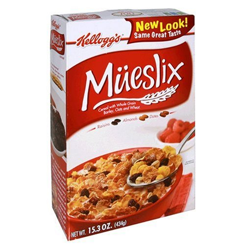 kellogg's Mueslix, 15.3-Ounce Boxes (Pack of 5)