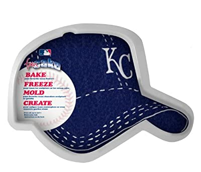 MLB Kansas City Royals Fan Cakes Heat Resistant CPET Plastic Cake Pan