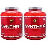 BSN SYNTHA-6 Protein Powder - Chocolate Peanut Butter, 10 lbs (104 Servings)