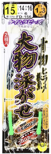 がまかつ(Gamakatsu) 大物泳ガセ仕掛 FD156 15-14