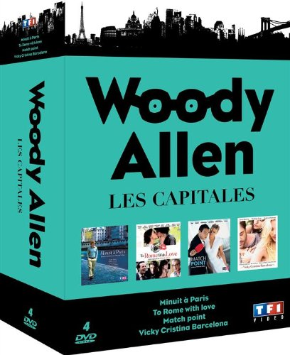 Coffret woody allen, les capitales : minuit a paris ; to rome with love ; match point ; vicky cristina barcelona [Francia] [DVD]
