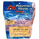 Mountain House Pro-Pak Chili Mac with Beef, net wt 4.06oz.