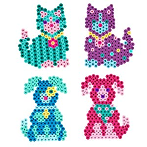 perler kitties n puppies fused bead kit