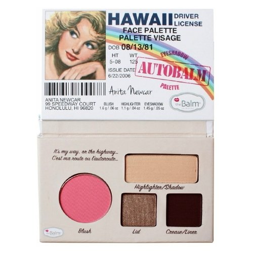 (3 Pack) theBalm Autobalm Face Palette - Hawaii