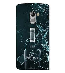 PrintDhaba Bottle D-4338 Back Case Cover for LENOVO VIBE K4 NOTE (Multi-Coloured)