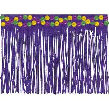 Mardi Gras Tableskirt