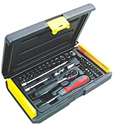 Stanley Mechanic Tools Kit - 1-89-033 Socket and Bit Set (35 PC)
