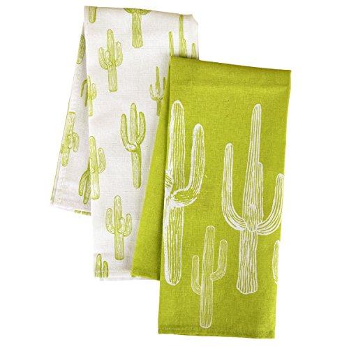 karma-tea-towels-cactus-set-of-2-lime-green