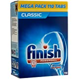 Finish Classic Powerball Dishwasher Tablets - Original, Pack of 1 (Total 110 Tablets)