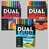 Tombow Dual Brush Pen Art Markers, Landscape with Tombow Dual Brush Pen Art Markers, Bright and Tombow Dual Brush Pen Art Markers, Primary