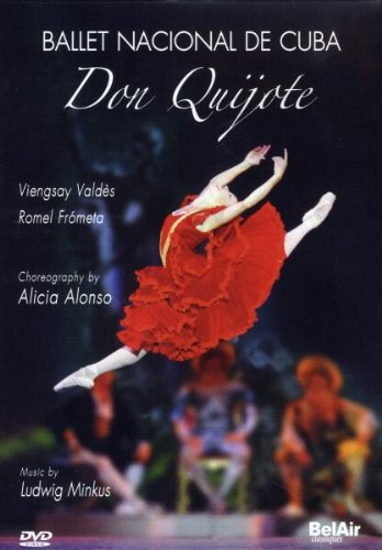 Minkus: Don Quijote - National Ballet of Cuba (Plus bonus interviews and rehearsals with Alicia Alonso) [DVD] [2008] [NTSC]
