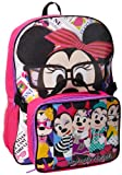 Disney Girls 2-6X Minnie Mouse Backpack with Lunch Set