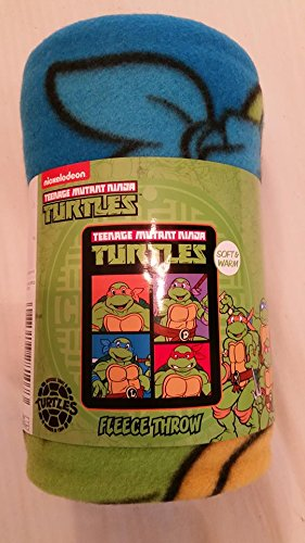 Teenage Mutant Ninja Turtles Fleece Throw рюкзак sprayground teenage mutant ninja grillz backpack b190b leonardo blue