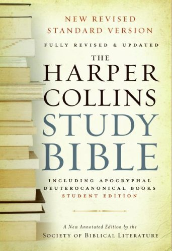 HarperCollins Study Bible - Student Edition: Fully...
