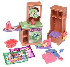 Loving family laundry room toys games for Fisher price loving family living room