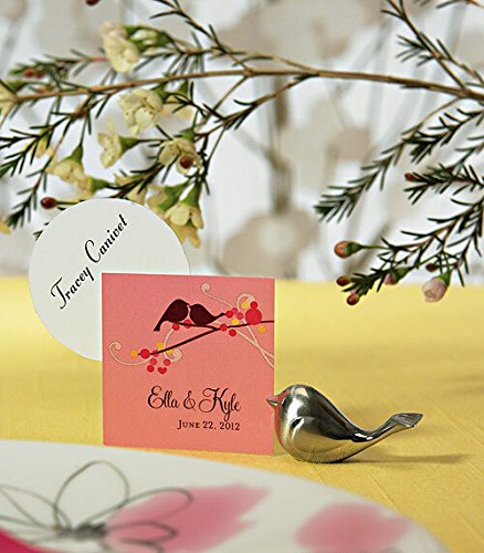 Love Bird Place Card/Photo Holders Baby Shower Gifts & Wedding Favors, 8