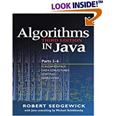 Algorithms in Java, Third Edition