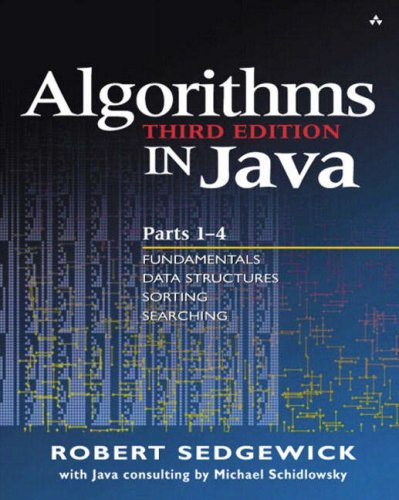 Algorithms in Java, Parts 1-4 (3rd Edition) (Pts.1-4)