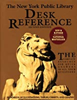 The New York Public Library Desk Reference, Second Edition