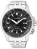 Citizen Herren-Armbanduhr XL Promaster Sky Analog - Digital Quarz Edelstahl BJ7070-57E