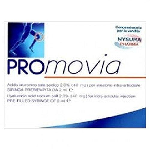 Promovia 40mg Siringa Preriempita Acido Ialuronico Sale Sodico 2% Da 2ml