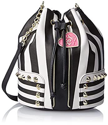 Betsey Johnson Stripe IS The New BJ44510 Cross Body Bag