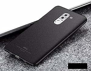 "Tapfond® All Sides Protection ""360 Degree"" Sleek Quicksand Matte Hard Back Case Cover For Huawei Honor 6x - Sandstone Black"