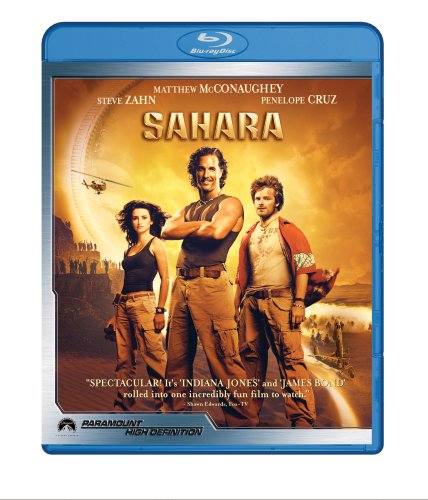 Cover art for  Sahara [Blu-ray]