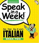 Italian: See, Hear, Say and Learn: We...
