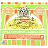 Bakery On Main Soft & Chewy, Gluten Free Granola Bars, Apple Cinnamon, 6-Ounce Box (Pack Of 3)