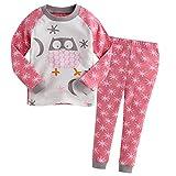 Vaenait Baby 74-122 Säugling Kinder Langarm Bekleidung Schlafanzüge Set Snow