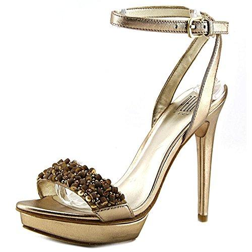 Pelle Moda Filia Femmes Cuir Sandales Compensés