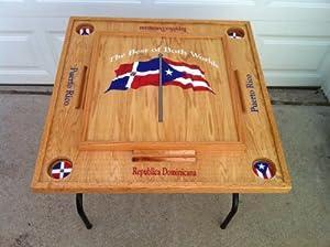 Buy Puerto Rico & Dominican Republic Domino table by latinos r us