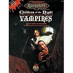 Children of the Night: Vampires (AD&D 2nd Ed Roleplaying, Ravenloft Accessory) by Steve Miller, Paul Culotta and Jonatha Ariadne Caspian