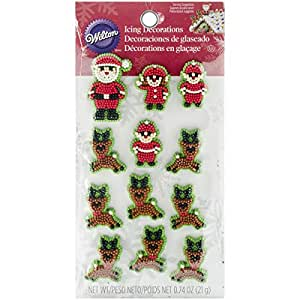 Buy wilton industries 710 3480 christmas santa and elves - Buy christmas decorations online india ...