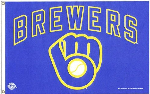 Milwaukee Brewers - MLB Team Flags - Buy Milwaukee Brewers - MLB Team Flags - Purchase Milwaukee Brewers - MLB Team Flags (Flagline.com, Home & Garden,Categories,Patio Lawn & Garden,Outdoor Decor,Banners & Flags,Sports Flags & Banners)