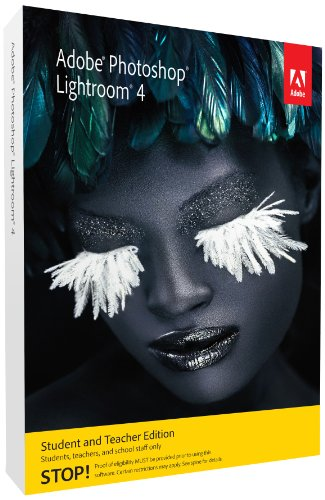 Adobe Photoshop Lightroom 4 Student and Teacher Edition [Old Version]