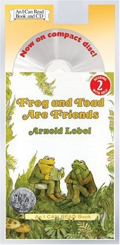 Frog and Toad Are Friends Book and CD (I Can Read Book 2)