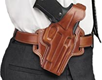 Galco Fletch High Ride Belt Holster for H&K USP Compact 45 (Tan, Right-hand)