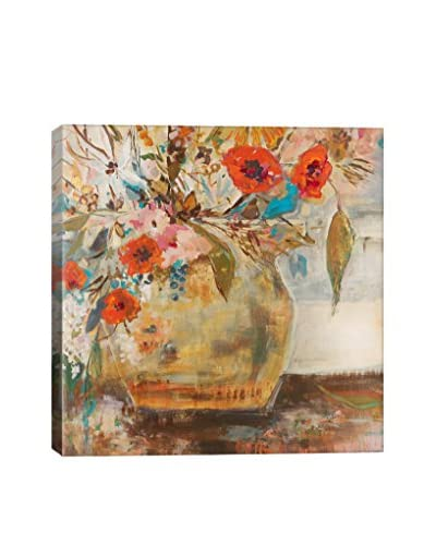 Julian Spencer Gallery Poppies and More Wrapped Canvas Print