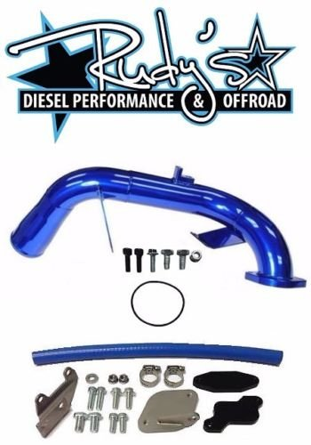 Rudy`s High Flow Elbow Intake Tube & EGR Cooler Delete Kit For 2006-2007 GMC CHEVY 6.6L LBZ Duramax Diesel