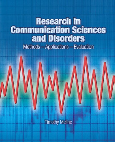 Research in Communication Sciences and Disorders:...