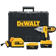 DEWALT DC800KL 36-Volt 1/2-Inch Lithium-Ion Cordless Impact Wrench Kit with NANO Technology