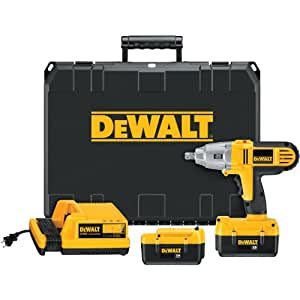 DEWALT DC800KL 36-Volt 1/2-inch Lithium Ion Cordless Impact Wrench Kit with NANO Technology