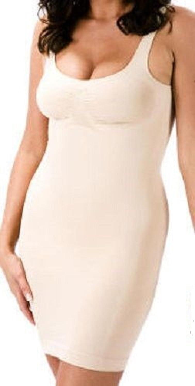 Bodyfit Full Dress/Slip Body Shaper With Straps - Beiges - XL (18-20) 50-52