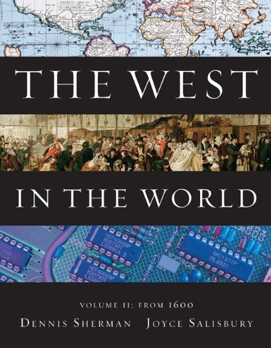 The West In The World, Volume Ii: From 1600 front-535878