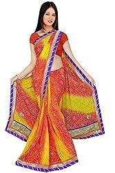 Kala Sanskruti Silk Saree (Ksa3Xi-56 _Orange And Yellow)