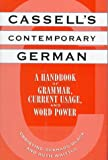 Cassell's Contemporary German: A Handbook of Grammar, Current Usage, and Word Power (002534904X) by Eckhard-Black, Christine