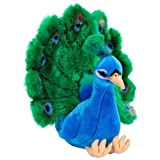 FAO Schwarz 15 inch Plush Peacock - Blue/Green by FAO Schwarz [Toy]