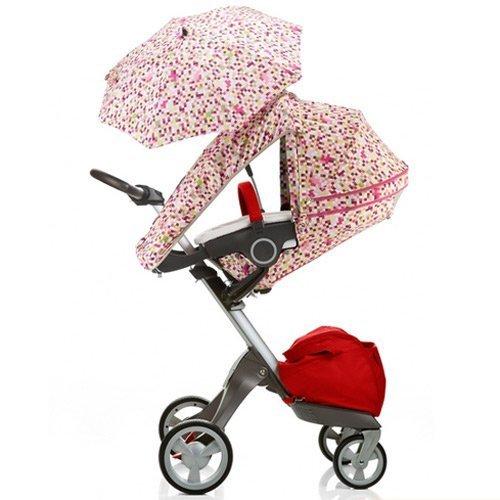 Stokke Xplory Summer Canopy Color: Pink Pixels